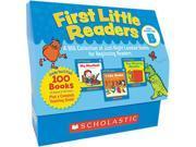 First Little Readers Level B, 100 Books, Teaching Guide, Prek-2