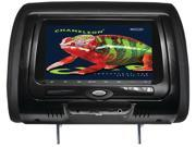 "CONCEPT CLD-703 7"" chameleon headrest monitor with hd input, built-in dvd player, touch buttons & high audio output"