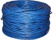 BYTECC C6E-1000B 1000 ft. Cat 6 Blue Bulk Cable