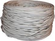 BYTECC C6E-1000W 1000 ft. Cat 6 White Bulk Cable