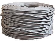 BYTECC C6E-1000GRAY 1000 ft. Cat 6 Gray Bulk Network Cable