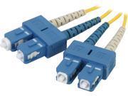 C2G 20808 3.28 ft. SC/SC Duplex 9/125 Single Mode Fiber Patch Cable