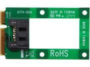 StarTech MSAT2SAT3 mSATA to SATA HDD SSD Adapter