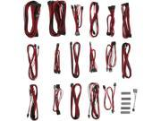 BitFenix ALCHEMY 2.0 PSU CABLE KIT for Corsair Power Supply, CSR-SERIES - Red (BFX-ALC-CSRKR-RP)