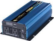 PowerBright PW1100-12 2200 Watt 12V DC to AC Power Inverters
