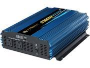 PowerBright PW2300-12 4600 Watts 12V DC to AC Power Inverter