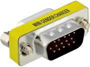 Insten 1983523 2-Pack HD15 M F Adapter M/F (HD VGA / SVGA) Port Saver