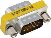 Insten  1983525  2-Pack HD15 M M Adapter M/M (HD VGA / SVGA) Mini Gender Changer