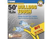 Prime Wire Model LT511930 50 ft. Bulldog Tough Extension Cord With Prime Light Indica