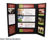 Elmer's 902091 - CFC-Free Polystyrene Foam Premium Display Board, 36 x 48, Black, 12/Carton