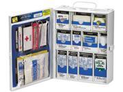 Medium First Aid Kit, 136-Pieces, Osha Compliant, Metal Case