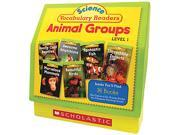 Science Vocabulary Readers: Animal Groups, 26 books/16 pages and Teach
