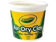 Air-Dry Clay, White, 5 Lbs