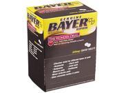 Aspirin Tablets, Two-Pack, 50 Packs/Box