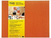 Post-It Display Board, 18 X 23, Tangelo, Frameless