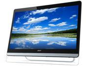 "Acer UT220HQL Tbmjz Black 21.5"" Touchscreen Monitor Multi-Touch Widescreen 5ms DVI HDMI MHL USB hub Built-in Speakers"