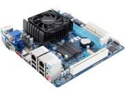 GIGABYTE GA-C1037UN Intel Dual-core Celeron 1037U (1.8 GHz) Intel NM70 Mini ITX Motherboard/CPU/VGA Combo
