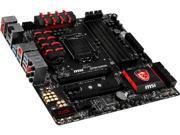 MSI Z97M Gaming LGA 1150 Intel Z97 HDMI SATA 6Gb/s USB 3.0 Micro ATX Intel Motherboard