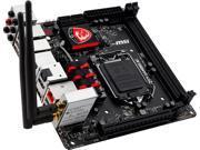 MSI Z97I Gaming AC LGA 1150 Intel Z97 HDMI SATA 6Gb/s USB 3.0 Mini ITX Intel Motherboard