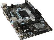 MSI H110M Pro-VD LGA 1151 Intel H110 SATA 6Gb/s USB 3.1 Micro ATX Intel Motherboard