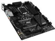 MSI Z170A SLI Plus LGA 1151 Intel Z170 HDMI SATA 6Gb/s USB 3.1 ATX Intel Motherboard