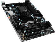 MSI 970A-G43 Plus AM3+/AM3 AMD 970 & SB950 SATA 6Gb/s USB 3.1 ATX AMD Motherboard