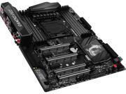 MSI X99A GAMING PRO CARBON LGA 2011-v3 Intel X99 SATA 6Gb/s USB 3.1 ATX Motherboards - Intel