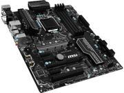 MSI H270 PC MATE LGA 1151 Intel H270 HDMI SATA 6Gb/s USB 3.1 ATX Motherboards - Intel