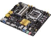 ASUS Q87T/CSM LGA 1150 Intel Q87 HDMI SATA 6Gb/s USB 3.0 Thin Mini-ITX Intel Motherboard For AiO And Ultra Slim Systems Certified Refurbished