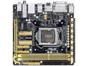 ASUS Z87I-DELUXE LGA 1150 Intel Z87 HDMI SATA 6Gb/s USB 3.0 Mini ITX Intel Motherboard