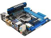 ASUS P8Z77-I DELUXE-R LGA 1155 Intel Z77 HDMI SATA 6Gb/s USB 3.0 Mini ITX Intel Motherboard with USB BIOS - Certified - Grade A