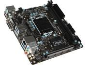 MSI B250I PRO LGA 1151 Intel B250 HDMI SATA 6Gb/s USB 3.1 Mini ITX Intel Motherboard
