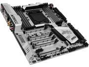 MSI X99S XPOWER GAMING TITANIUM/USB3.0 LGA 2011-v3 Intel X99 SATA 6Gb/s USB 3.1 ATX Motherboards - Intel