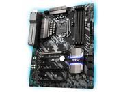 MSI Z370 TOMAHAWK LGA 1151 (300 Series) Intel Z370 HDMI SATA 6Gb/s USB 3.1 ATX Intel Motherboard