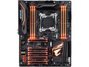GIGABYTE AORUS X299 AORUS Ultra Gaming (rev. 1.0) LGA 2066 Intel X299 SATA 6Gb/s USB 3.1 ATX Intel Motherboard