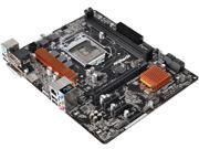 ASRock H110M-HDV LGA 1151 Intel H110 HDMI SATA 6Gb/s USB 3.0 Micro ATX Intel Motherboard