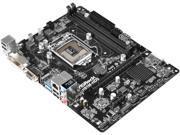 ASRock H81M-HDS R2.0 LGA 1150 Intel H81 HDMI SATA 6Gb/s USB 3.0 Micro ATX Intel Motherboard
