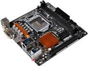 ASRock H110M-ITX LGA 1151 Intel H110 HDMI SATA 6Gb/s USB 3.0 Mini ITX Intel Motherboard