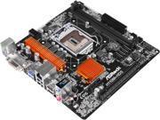 Image of ASRock H110M-HDS LGA 1151 Intel H110 HDMI SATA 6Gb/s USB 3.0 Micro ATX Intel Motherboard