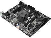 ASRock FM2A58M-HD+ R2.0 FM2+ / FM2 AMD A58 (Bolton D2) HDMI Micro ATX AMD Motherboard