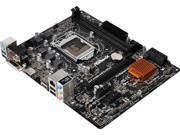 ASRock H110M-HDV/D3 LGA 1151 Intel H110 HDMI SATA 6Gb/s USB 3.0 Micro ATX Intel Motherboard