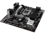 ASRock H270M Pro4 LGA 1151 Intel H270 HDMI SATA 6Gb/s USB 3.0 Micro ATX Intel Motherboard