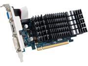 ASUS 8400GS-SL-1GD3-L GeForce 8400 GS 1GB 64-Bit DDR3 PCI Express 2.0 x16 HDCP Ready Low Profile Video Card Manufactured Recertified