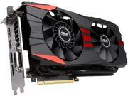 ASUS GeForce GTX 960 GTX960-DC2OC-2GD5-BLACK 2GB 128-Bit GDDR5 PCI Express 3.0 HDCP Ready SLI Support Video Card