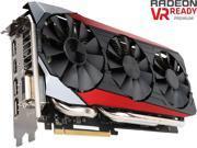 ASUS Radeon R9 390X DirectX 12 STRIX-R9390X-DC3OC-8GD5-GAMING 8GB 512-Bit GDDR5 PCI Express 3.0 HDCP Ready Video Card