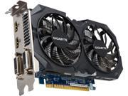 GIGABYTE GeForce GTX 750 Ti GV-N75TWF2OC-4GI 4GB 128-Bit GDDR5 PCI Express 3.0 x16 ATX Video Card