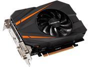GIGABYTE GeForce GTX 1070 DirectX 12 GV-N1070IXOC-8GD Video Card