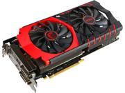 MSI Radeon R9 390X DirectX 12 R9 390X GAMING 8G LE 8GB 512-Bit GDDR5 HDCP Ready CrossFireX Support ATX Video Card