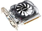 MSI GeForce GT 730 DirectX 12 N730-4GD3V2 Video Card