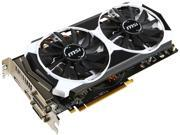 MSI Radeon R9 380 DirectX 12 R9 380 4GD5T OC 4GB 256-Bit GDDR5 HDCP Ready CrossFireX Support ATX Video Card